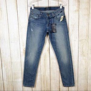 Lucky Brand Sienna Slim Boyfriend Stretch Jeans 25